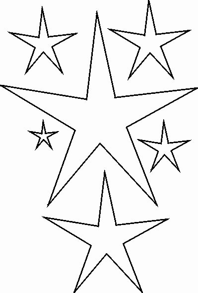 Star Stencil Printable Fresh 25 Best Images About Stencils On Pinterest