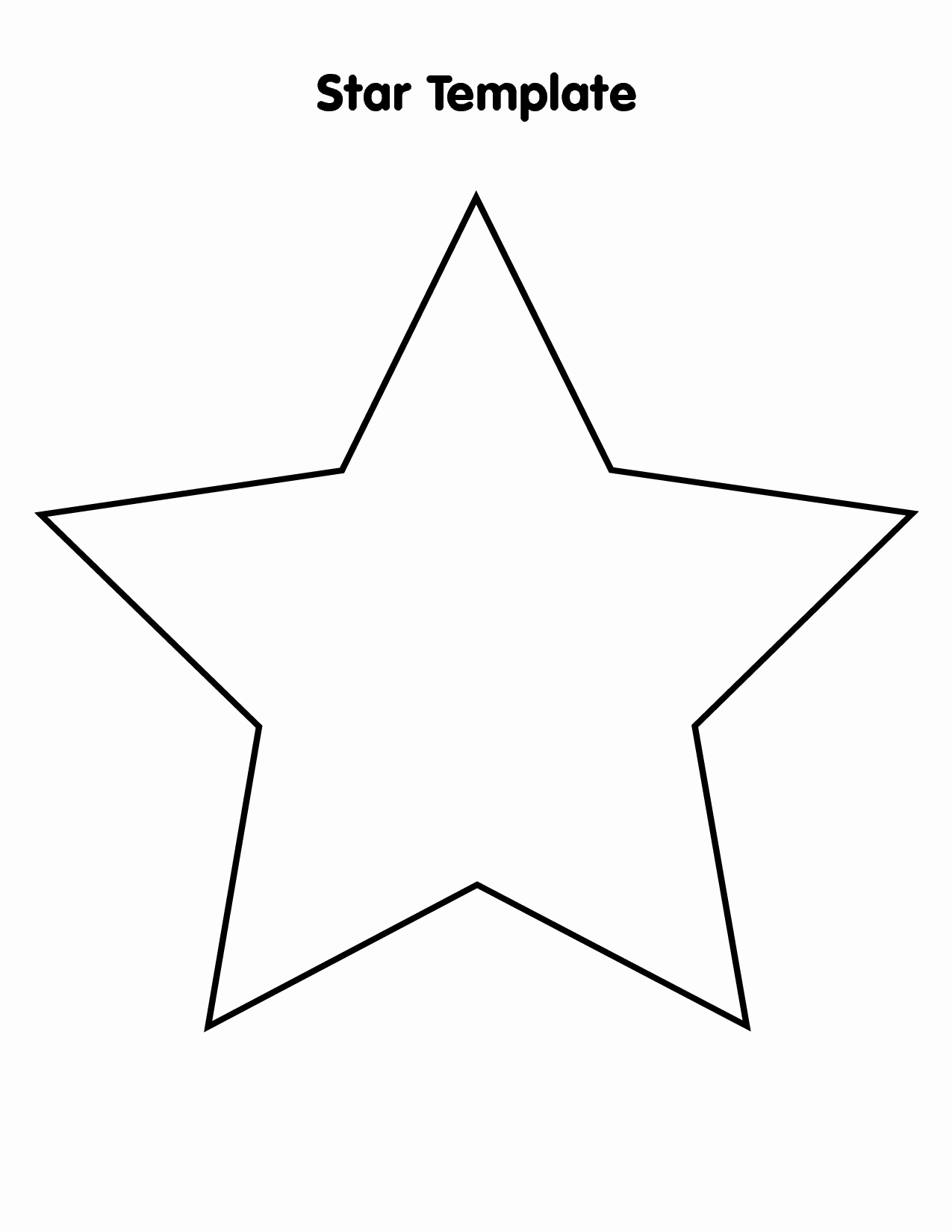 Star Stencil Printable Inspirational Free Star Template Download Free Clip Art Free Clip Art