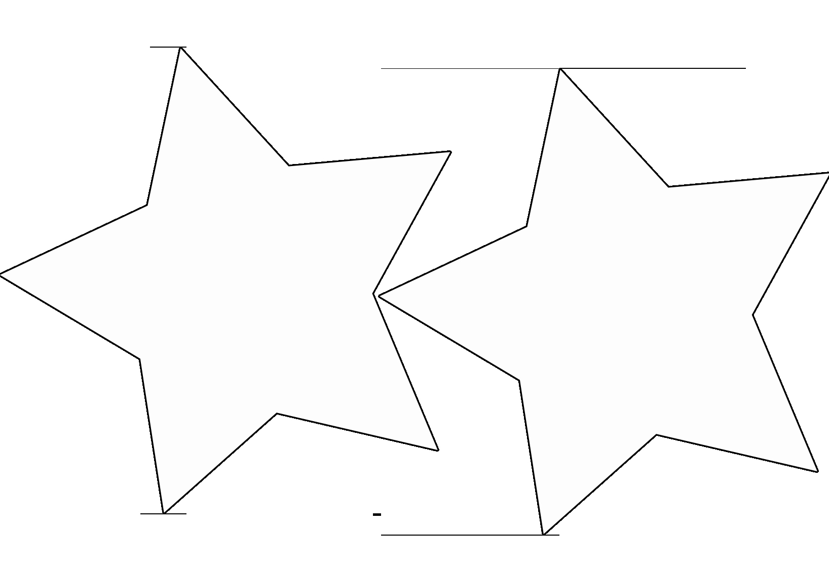 Star Stencil Printable New Free Star Template Printable Download Free Clip Art