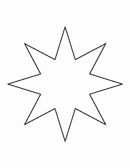 Star Stencil Printable Unique 20 Best Ideas About Star Template On Pinterest