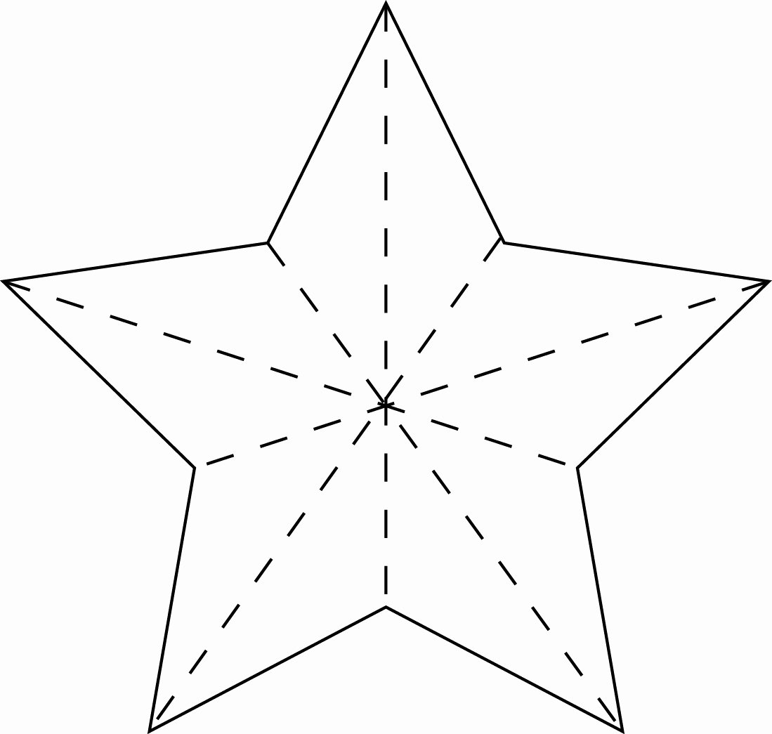 Star Stencil Printable Unique Creatively Christy January 2013