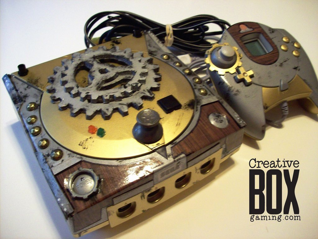 Steampunk Custom Sega Dreamcast