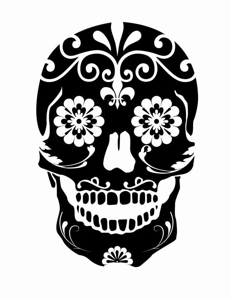 Sugar Skull Pumpkin Carving Stencils Awesome 419 Best Images About Stencils On Pinterest