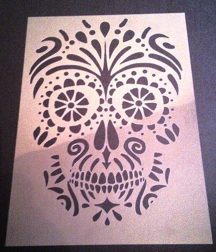 Sugar Skull Pumpkin Carving Stencils Beautiful 1000 Ideas About Skull Stencil On Pinterest