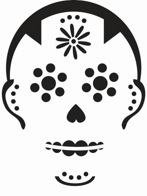 Sugar Skull Pumpkin Carving Stencils Fresh 17 Best Ideas About Sugar Skull Pumpkin On Pinterest