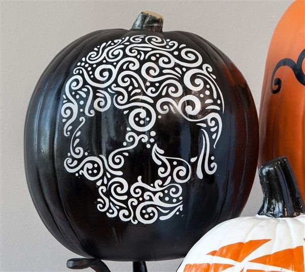 Sugar Skull Pumpkin Carving Stencils Fresh the 25 Best Sugar Skull Pumpkin Stencil Ideas On