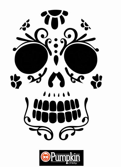Sugar Skull Pumpkin Carving Stencils Inspirational 26 Free Pumpkin Carving Templates