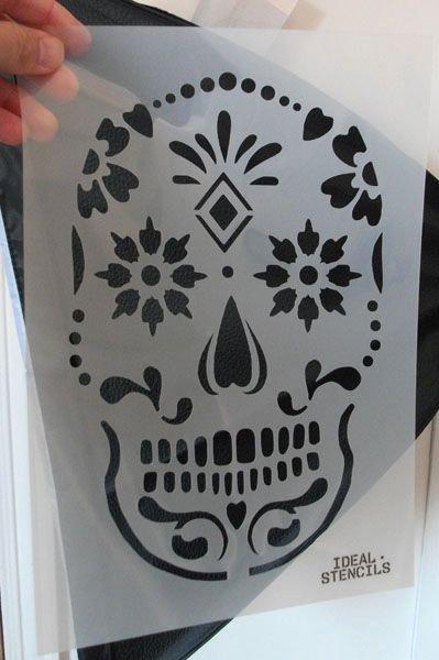 Sugar Skull Pumpkin Carving Stencils Luxury Best 25 Skull Stencil Ideas On Pinterest