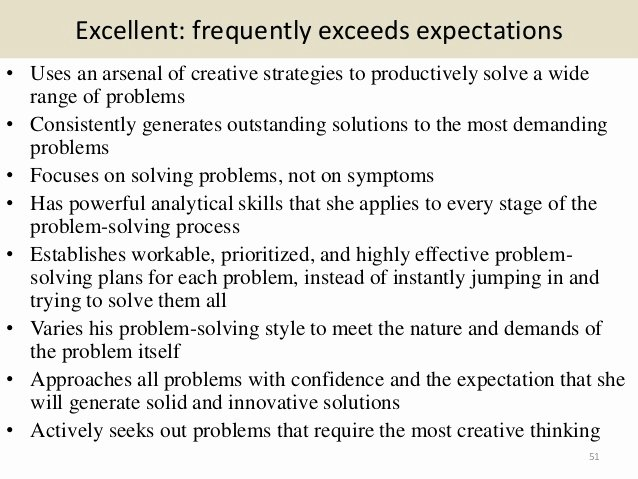 Summary Of Performance Examples Best Of 280 Performance Review Ment Samples