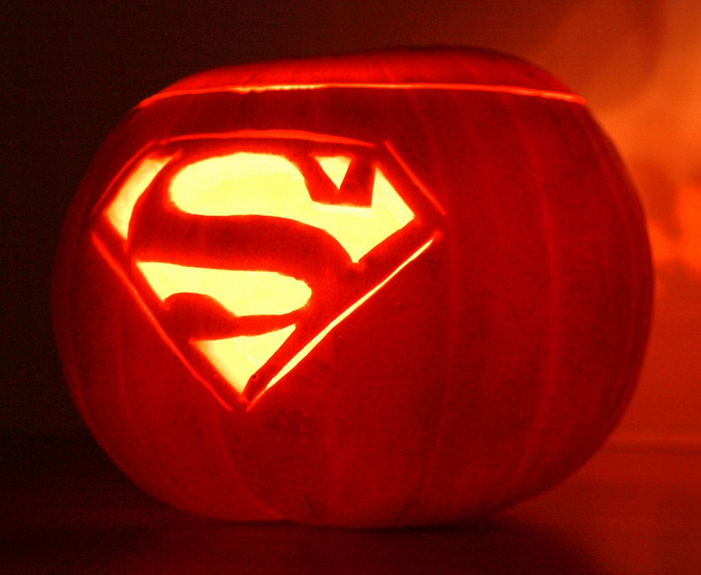 Superman Pumpkin Stencils Elegant Superman Logo Pumpkin by Mikedaws On Deviantart
