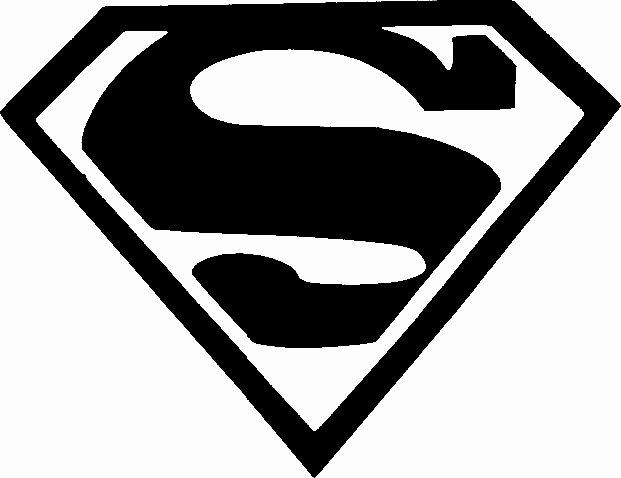 Superman Pumpkin Stencils Lovely Superman Symbol Template Clipart Best