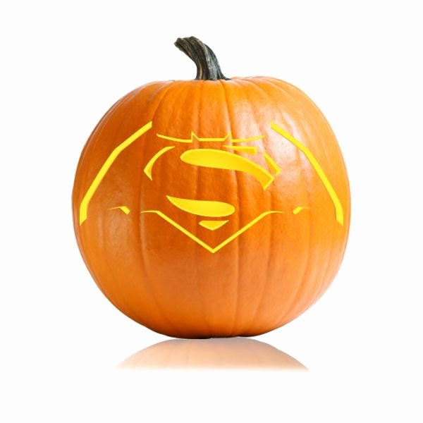 Superman Pumpkin Stencils Unique Batman Superman Pumpkin Carving Stencil Ultimate Pumpkin