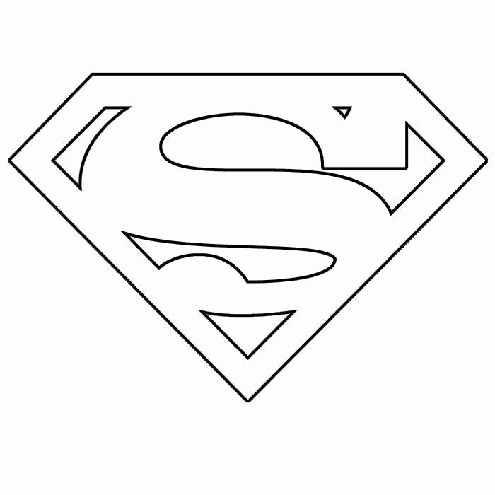 Superman Pumpkin Stencils Unique Superman Template