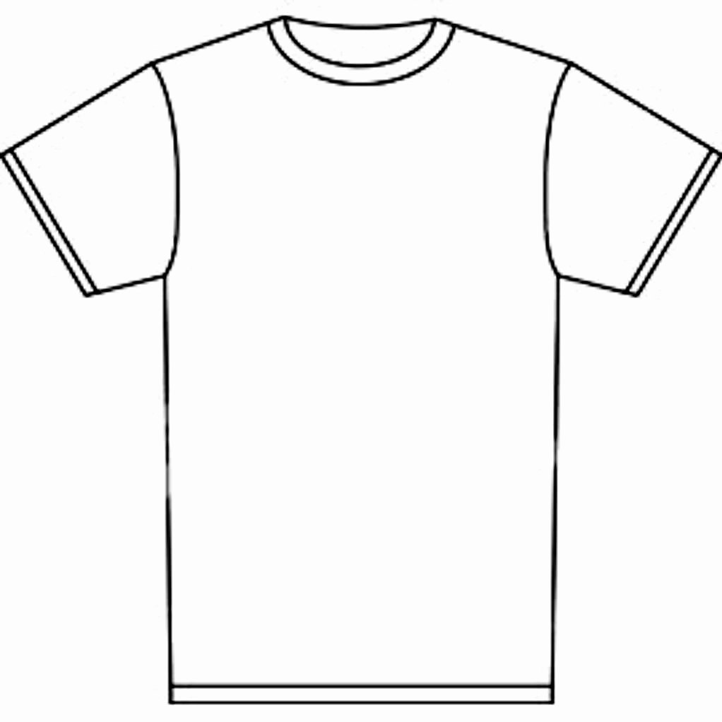 T-shirt Drawing Elegant T Shirt Coloring Page Coloring Home
