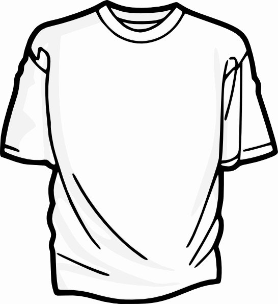 T-shirt Drawing Inspirational Blank T Shirt Clip Art Free Vector In Open Office Drawing