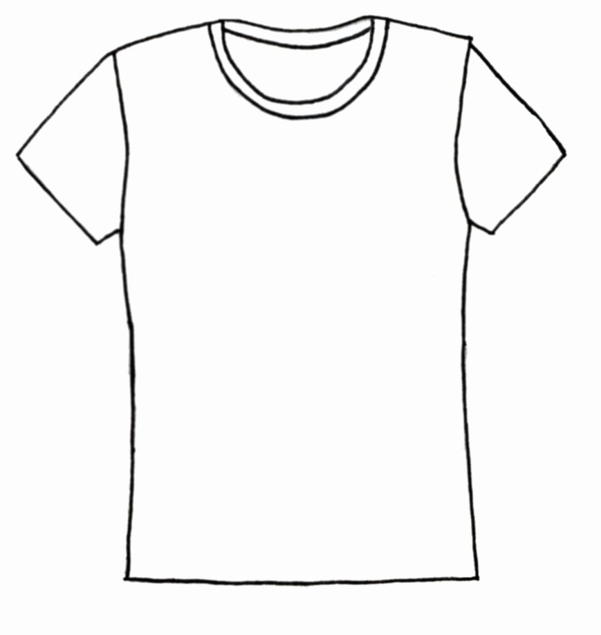 T-shirt Drawing Luxury T Shirt Clip Art Tshirt Clipart Cliparts for You Clipartix