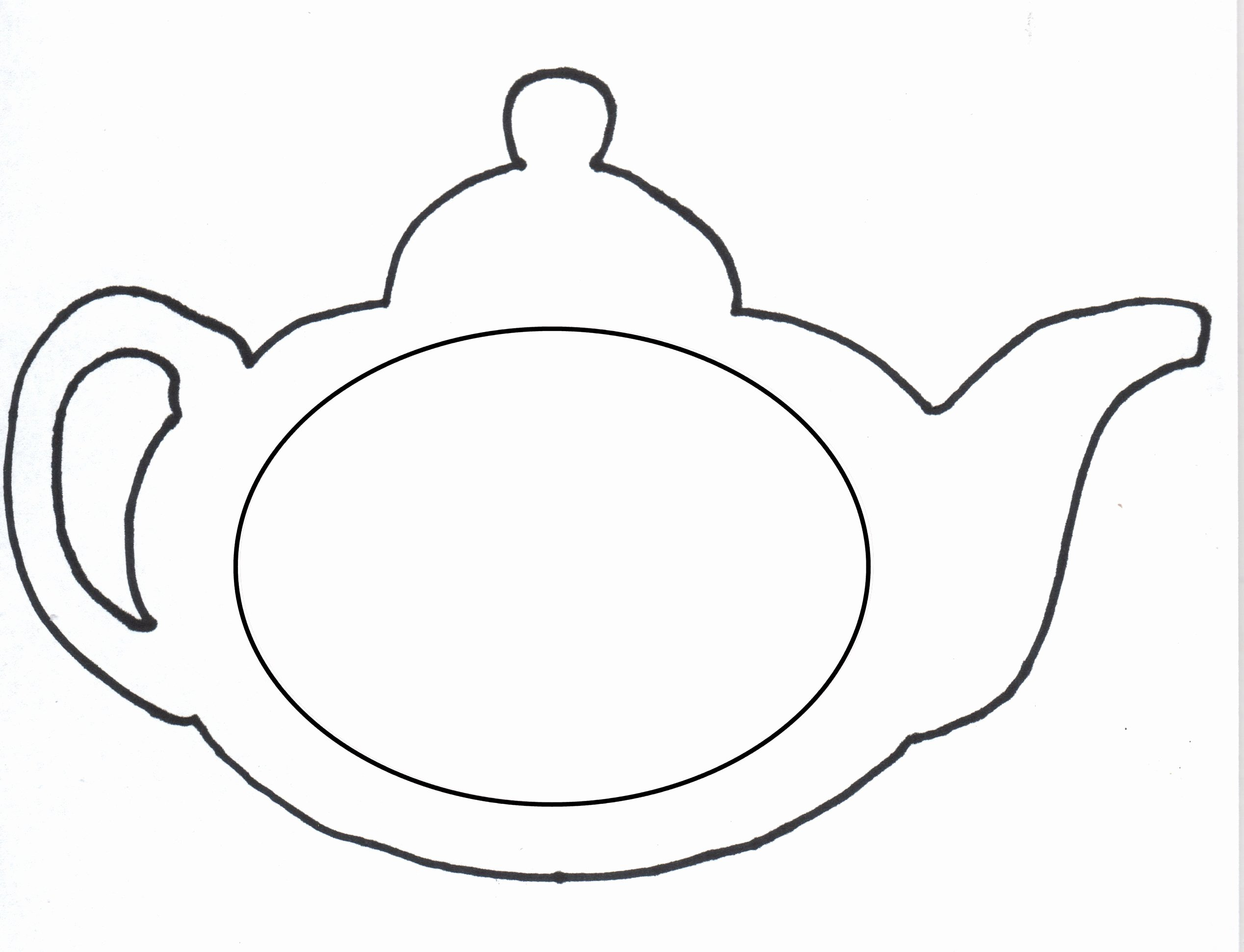 tea pot template