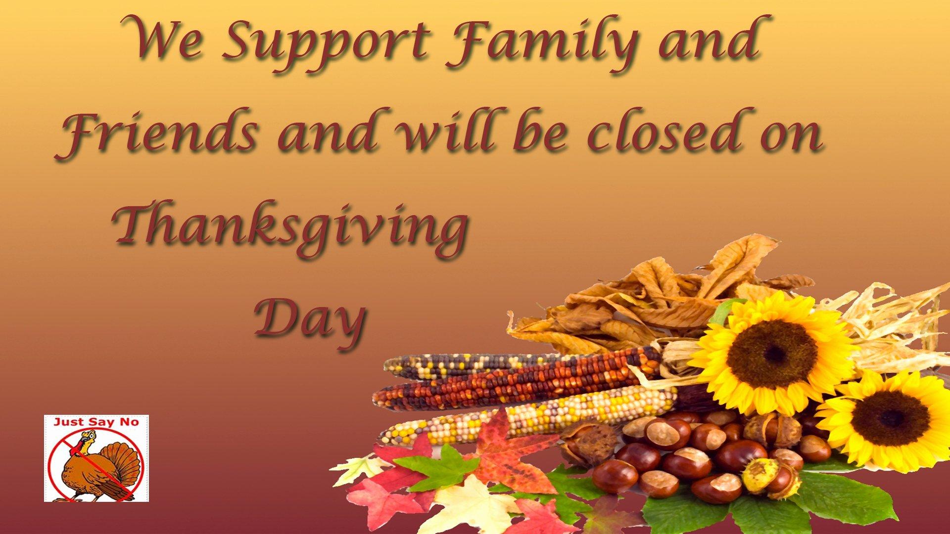 closed thanksgiving 2