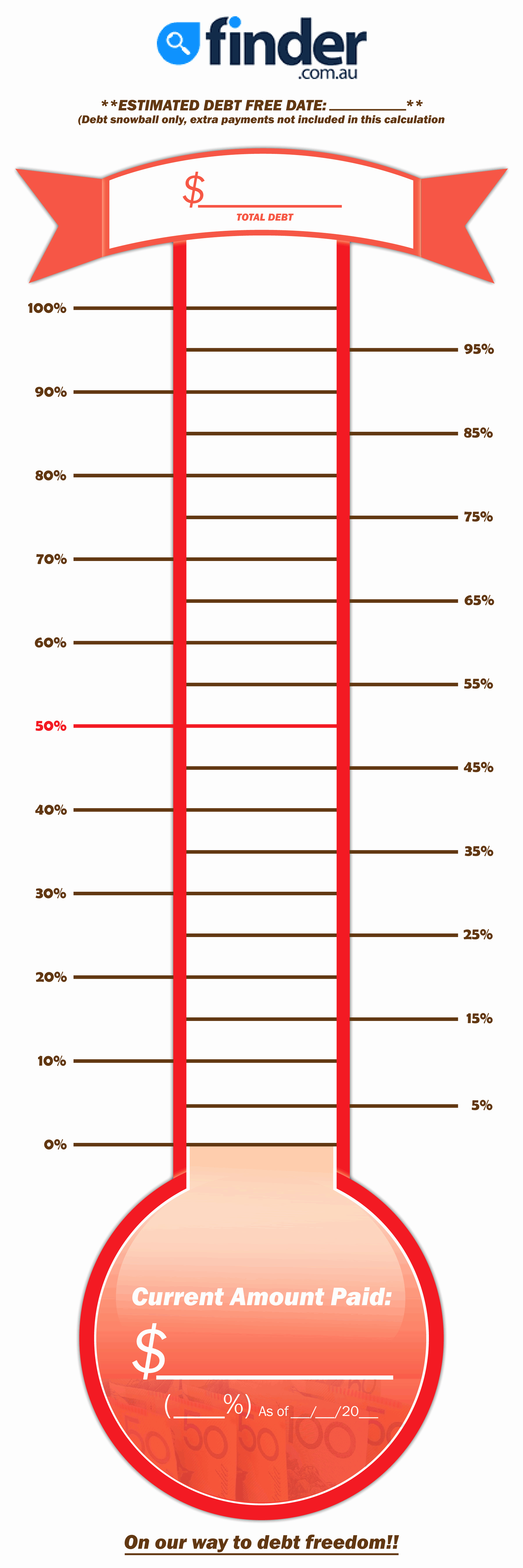 Thermometer Goal Chart Template Fresh Goal thermometer Template