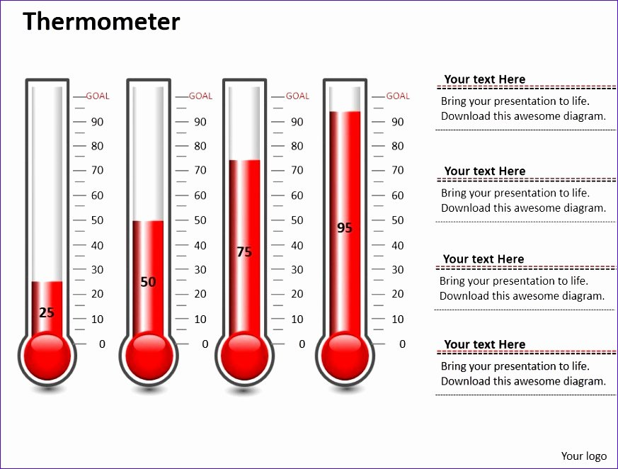 thermometer template excel s3850