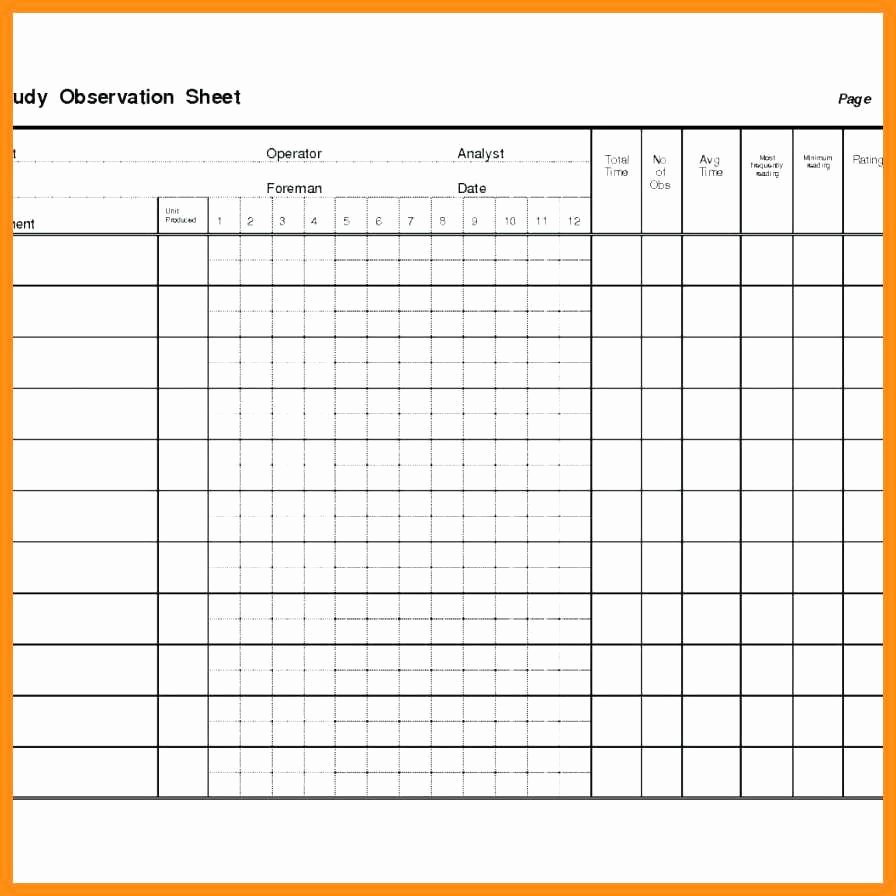 Time and Motion Study Template Excel Unique Time and Motion Spreadsheet Google Spreadshee Time and