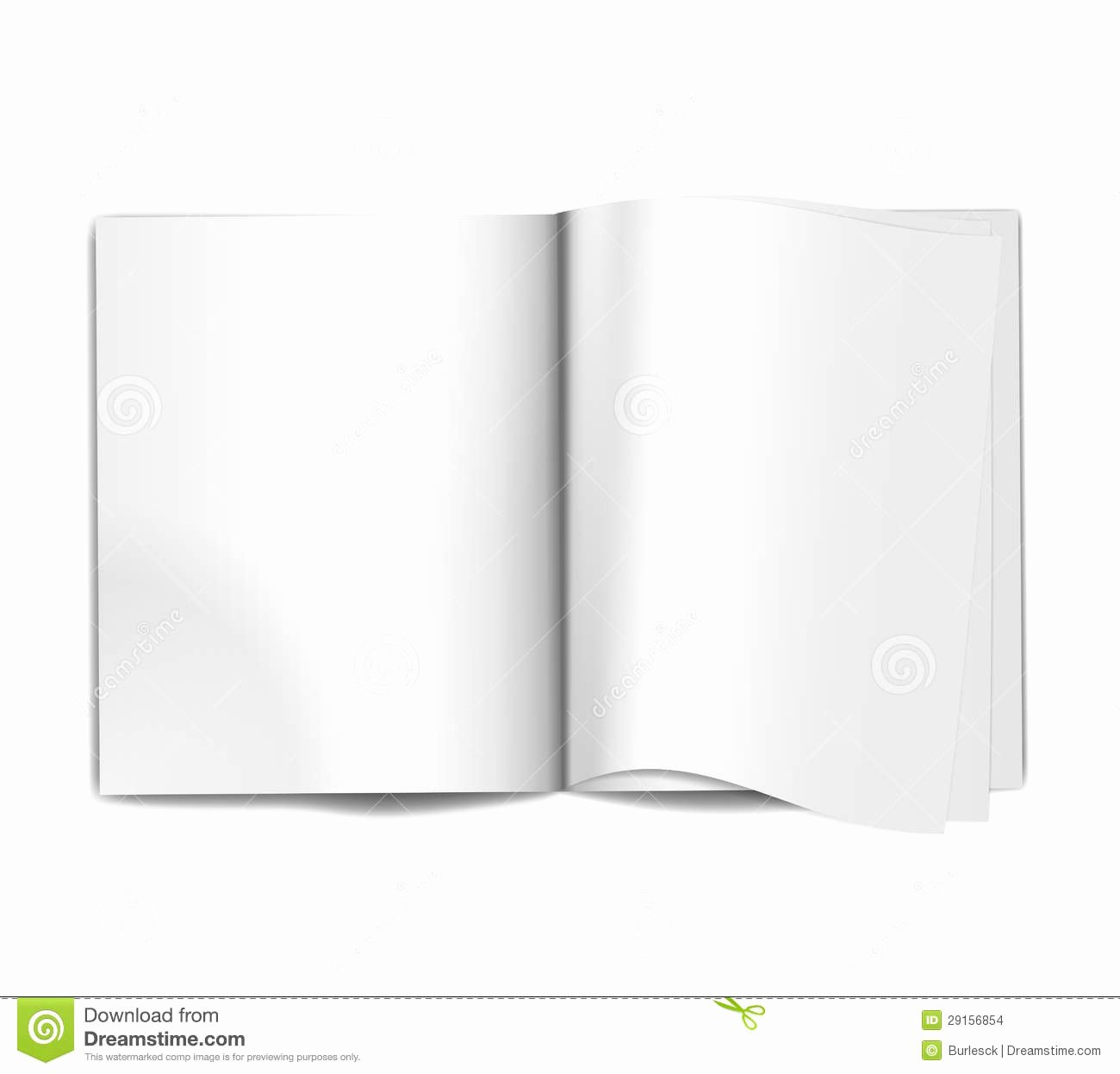 Time Magazine Blank Awesome Magazine Blank Pages Stock Vector Image Of Textbook
