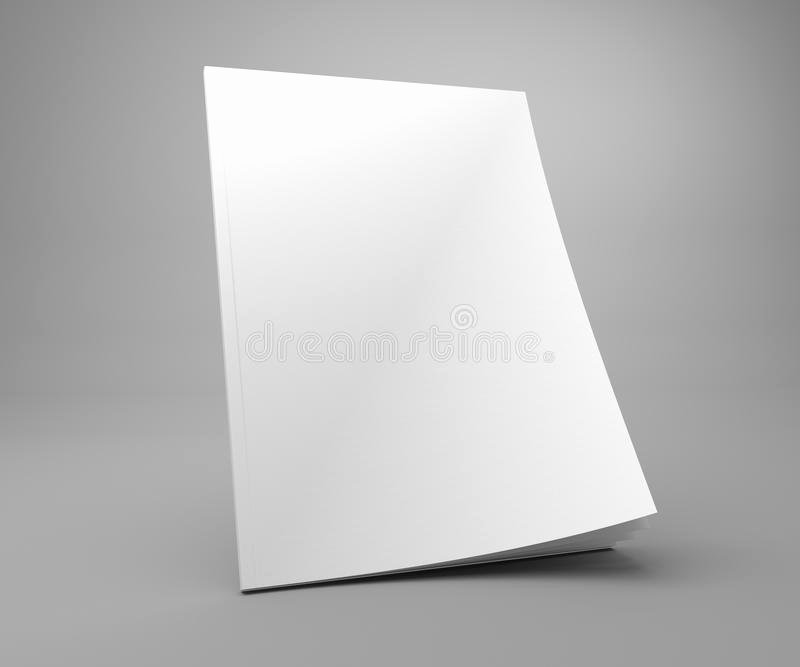 Time Magazine Blank Cover Beautiful Blank Standing 3d Illustration Cover Magazine Mockup