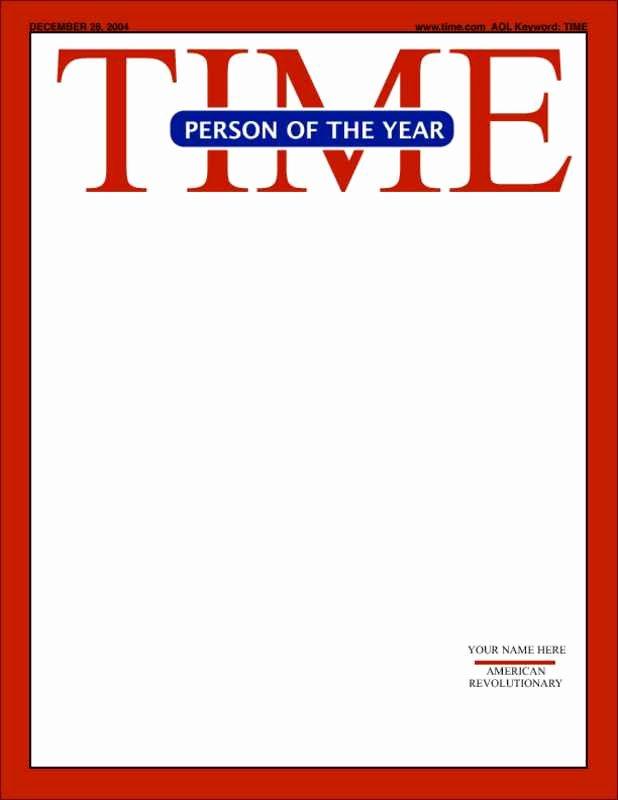 Time Magazine Blank Lovely 18 Blank Magazine Cover Design Make Your Own