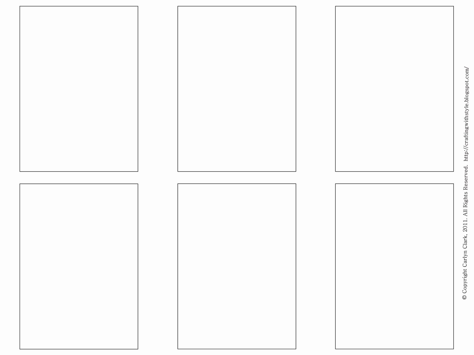 trading card template 2017