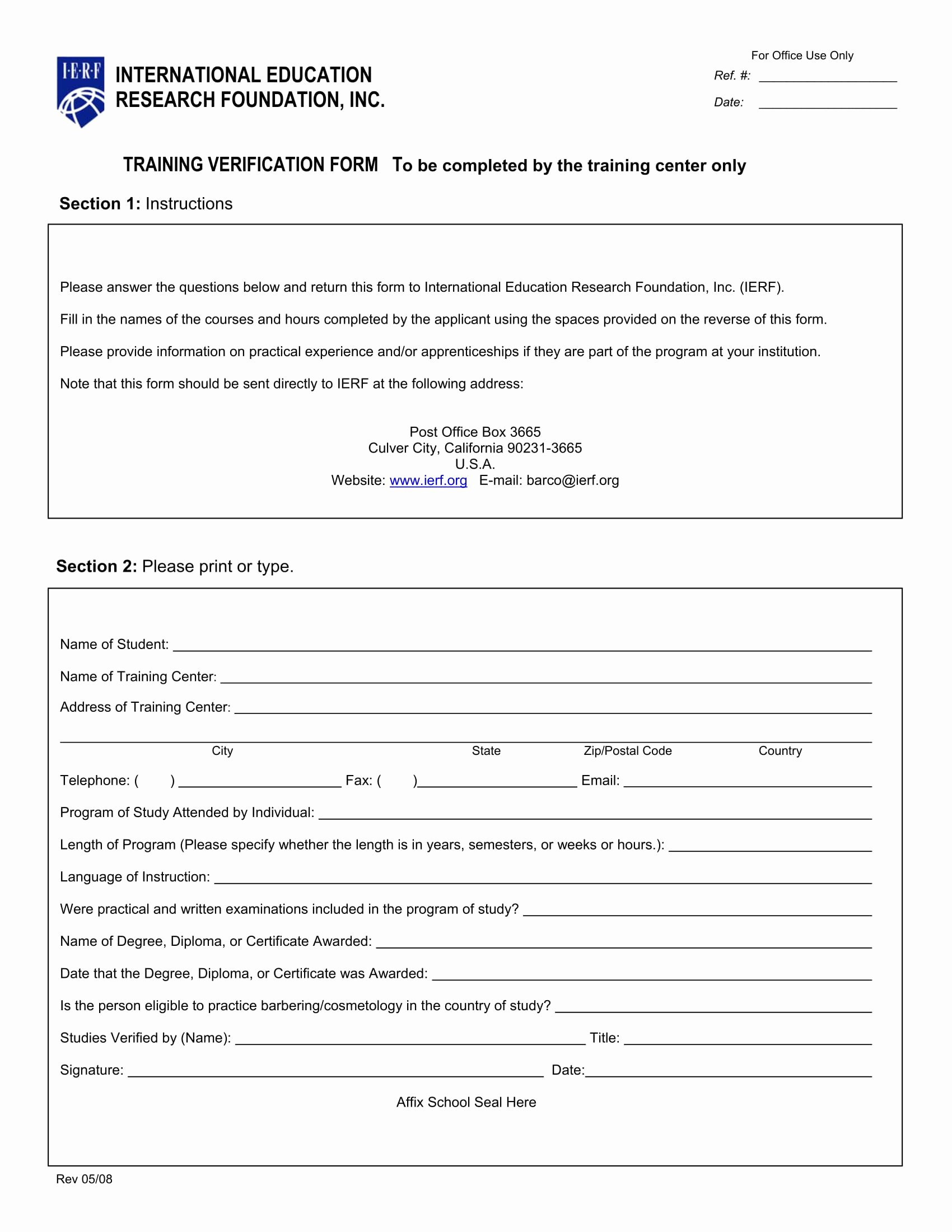 Training Request form Template Luxury Training Verification form Samples Definition Uses and