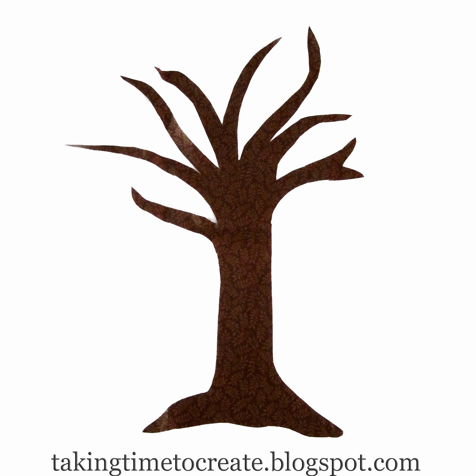 tree trunk clipart outline