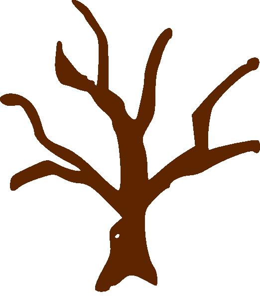 Tree Trunk Template New Printable Brown Tree Branch Template Clipart Best