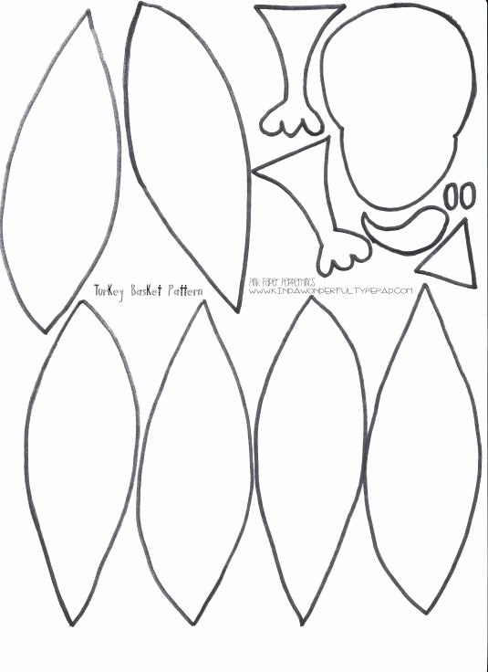 Turkey Feather Template Pattern Printable Best Of Printable Turkey Feathers