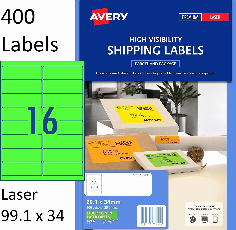 label template 16 per sheet 2250