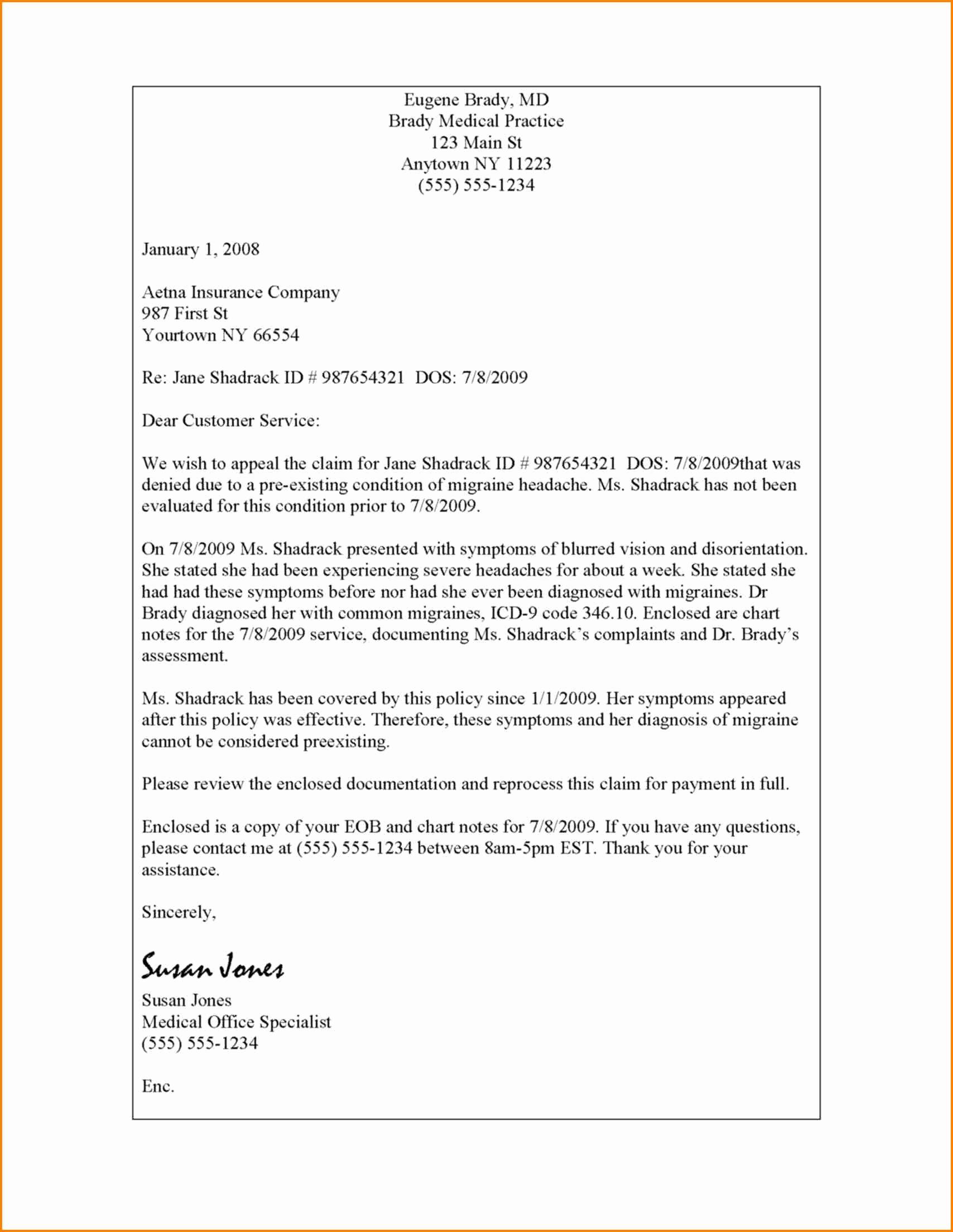 Unemployment Appeal Letter Luxury 7 Unemployment Denial Appeal Letter Template