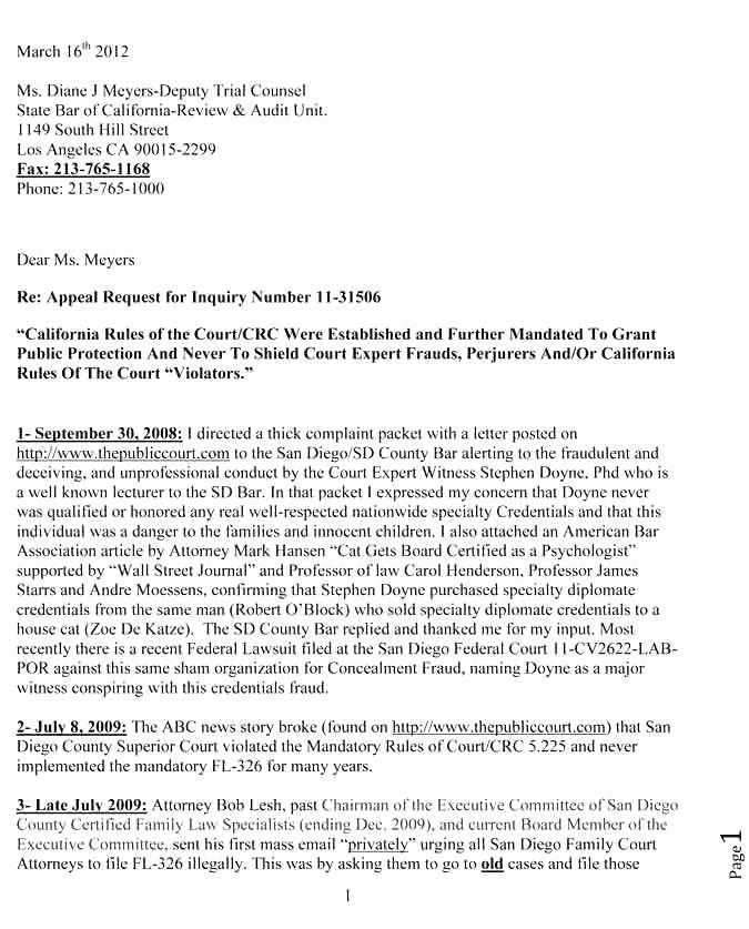 Unemployment Appeal Letter Luxury 9 10 Sample Appeal Letter for Unemployment Denial