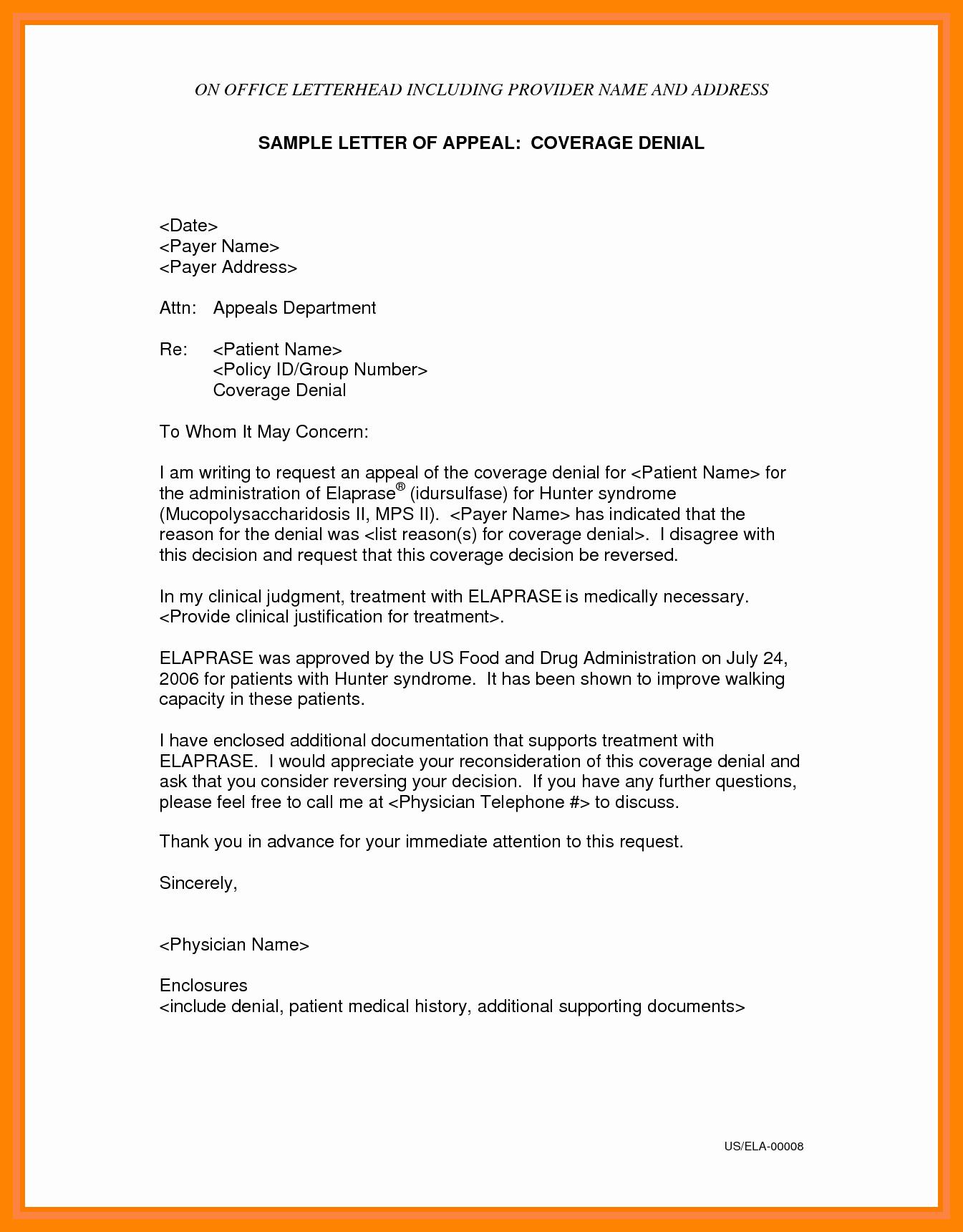 Unemployment Appeal Letter New 5 Appeal Letter for Unemployment