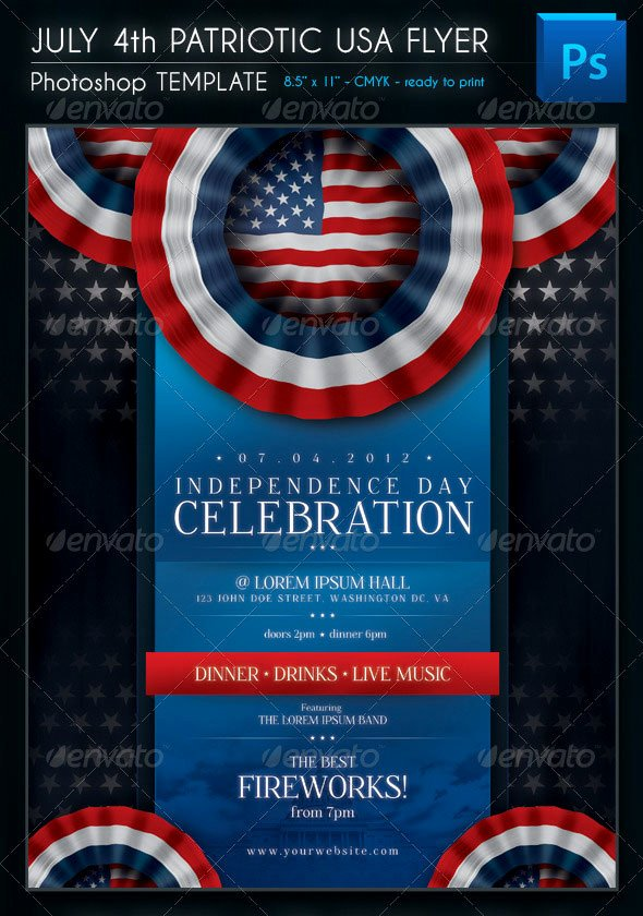 Veterans Day Flyer Template Free Fresh 16 Amazing Independence Day Psd Flyer Templates