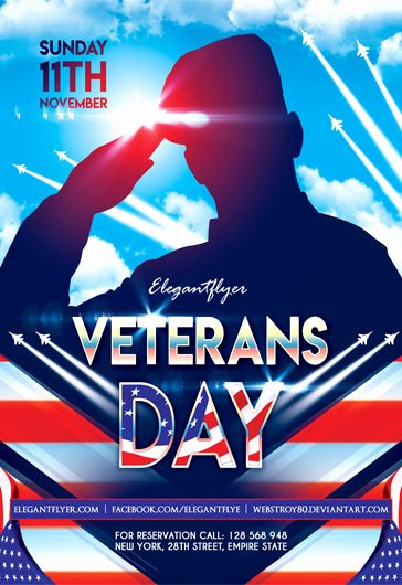 Veterans Day Flyer Template Free New Free Psd Flyers Templates for event Club Party and
