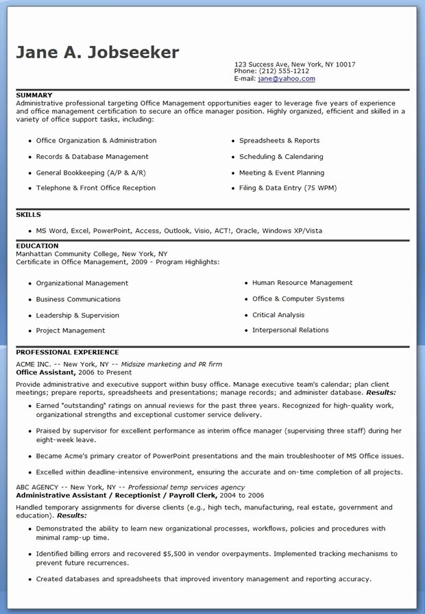 Virtual assistant Cover Letter Luxury Fice assistant Resume ...