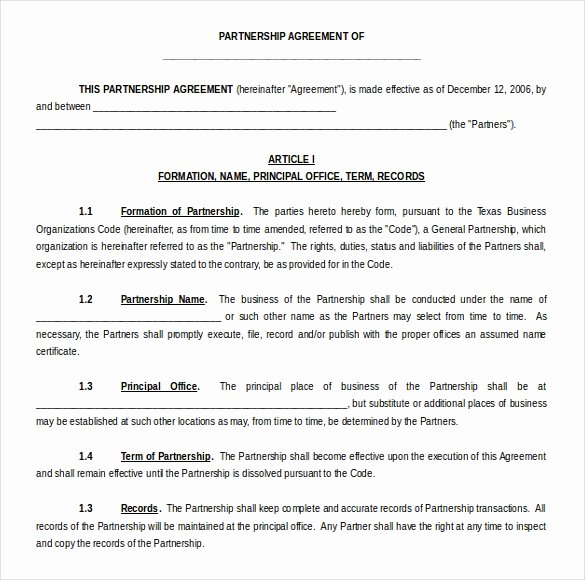 Waiver Template Word Elegant 15 Microsoft Word Agreement Templates Free Download
