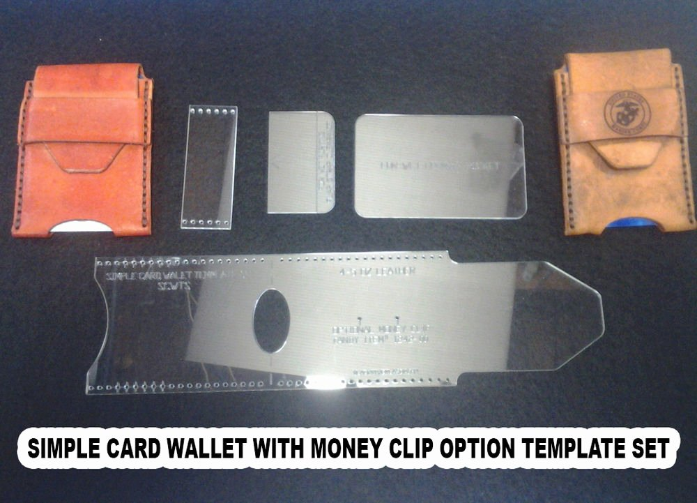 Wallet Card Template Free Elegant Credit Card Wallet Template Set Leather Craft with