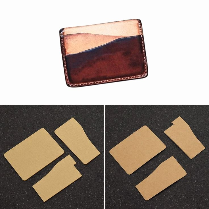 Wallet Card Template Free Elegant Diy Card Holder Template Leather Craft Wallet Mould tool