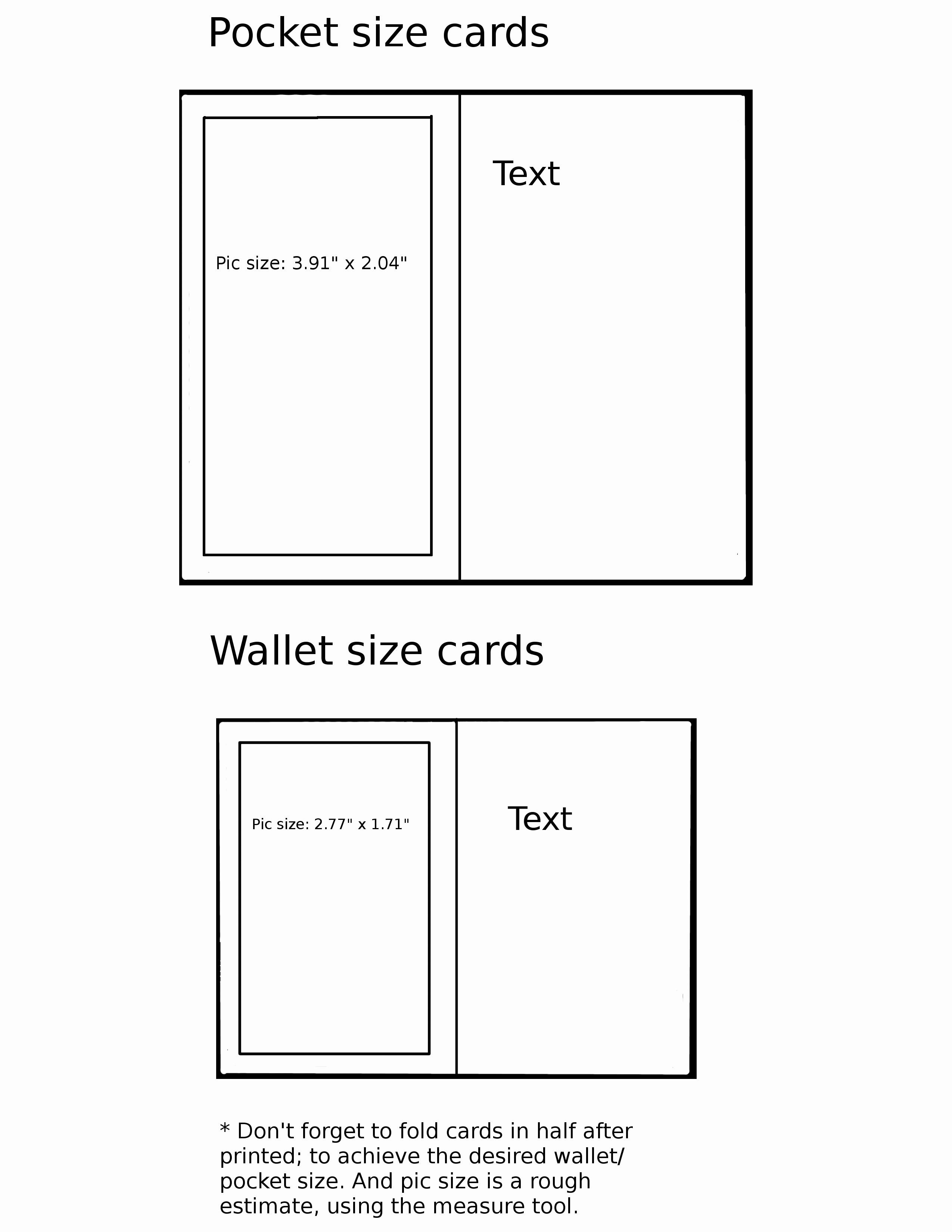 Wallet Card Template Free Inspirational Pocket Wallet Card Template by Mystictempest On Deviantart