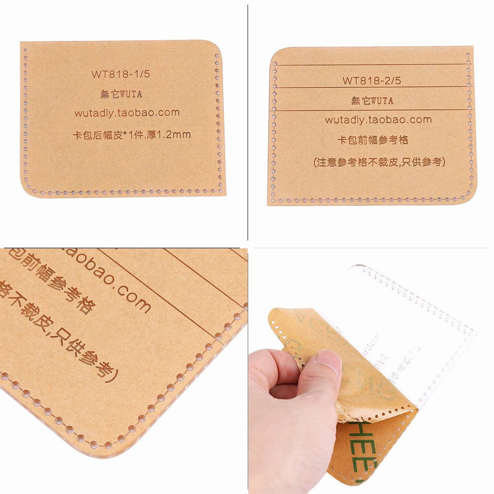 Wallet Card Template Free Luxury Card Case Template Clear Acrylic Leathercraft Pattern tool