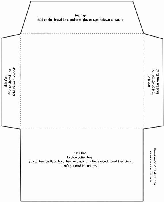 Wallet Card Template Word Fresh Envelope Template