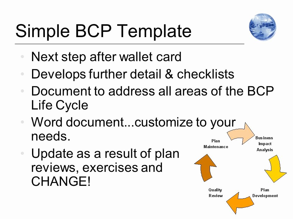"""Wallet Card Template Word Inspirational """"best Practices In Business"""" Planning for Pandemic"""