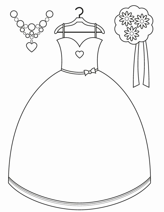 Wedding Coloring Book Templates Inspirational Wedding Coloring Pages Bridesmaid Accessories