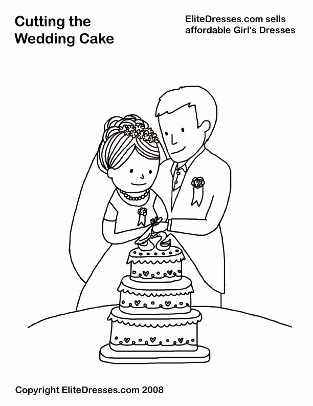 Wedding Coloring Book Templates New Q and U Wedding Coloring Coloring Pages