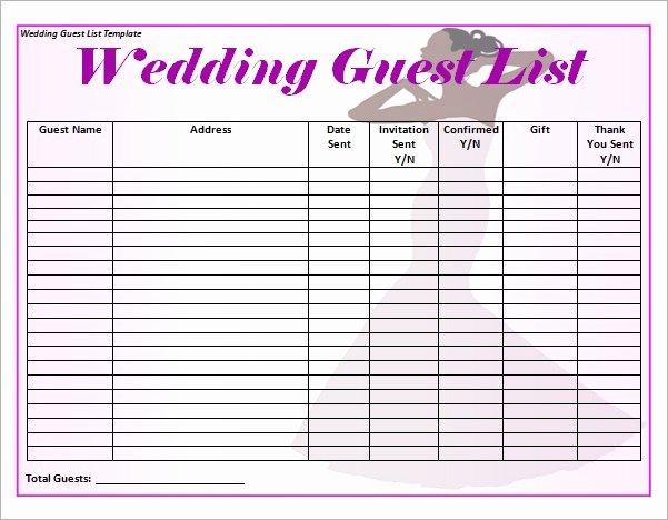 Wedding Photo Checklist Word Document Best Of Wedding List Template